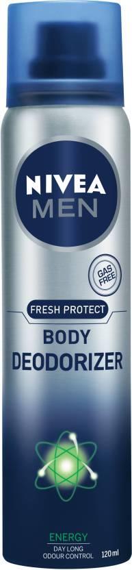 Nivea Men Fresh Protect Body Deodorizer Energy- 120 ml