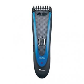 Syska HT1309 Cordless Hair and Beard Trimmer (Black/Blue)
