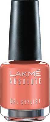 Lakme Absolute Gel Stylist Nail Color, Soft Rose, 15ml