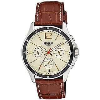 Casio Enticer MTP-1374L-9A2VDF (A1046) Analog Beige Dial Men's Watch