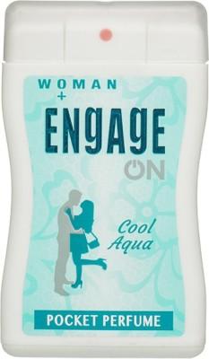Engage On Cool Aqua Pocket Perfume For Women 18 ml