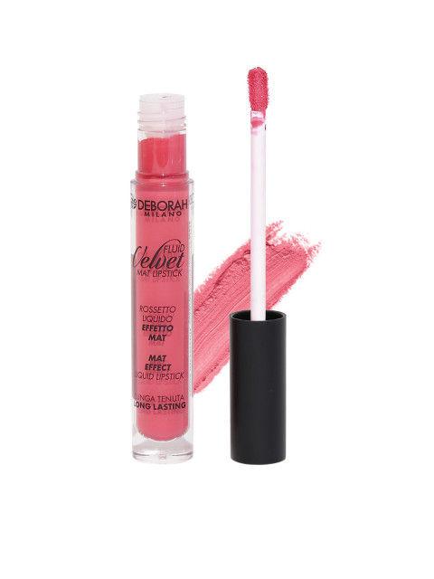 Deborah Milano Loud Coral Fluid Velvet Matte Lipstick, 4.5 GM