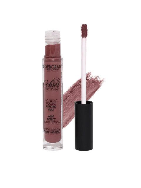 Deborah Milano Intense Marsala Fluid Velvet Matte Lipstick, 4.5 GM