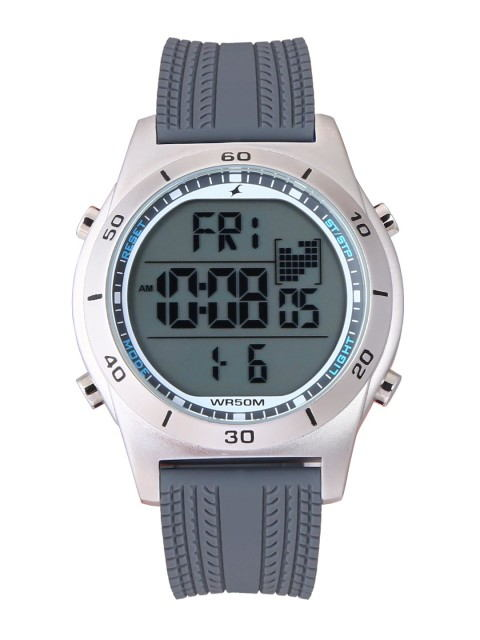 2005bd993b4 Fastrack 38033SP03J Grey Digital Men s Watch Price in India