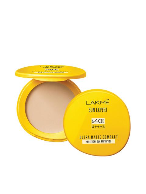 Lakme Sun Expert Ultra Matte Spf 40 Pa+++ Compact, 7 Gm