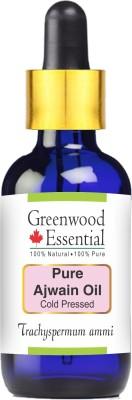 Greenwood Essential Pure Ajwain Essential Oil, Trachyspermum ammi, 50 ml