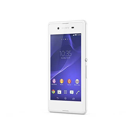 Sony Xperia E3 Dual 4 GB White Mobile