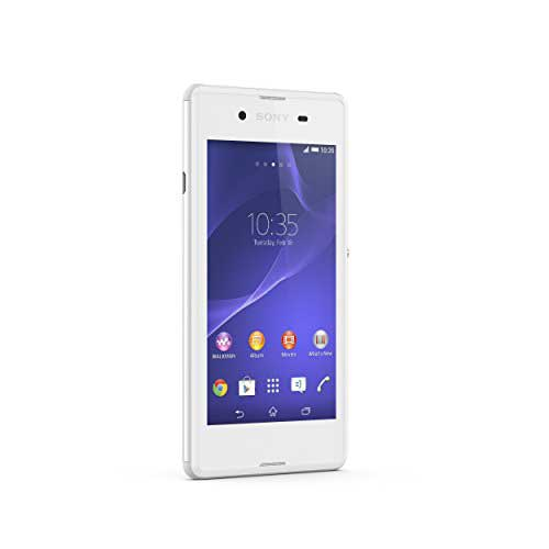 Sony Xperia E3 White Mobile