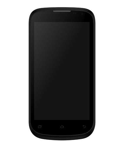 Micromax Canvas Elanza A93 4 GB Black Silver Mobile
