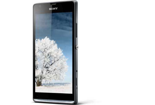 Sony Xperia SP C5302 Black Mobile
