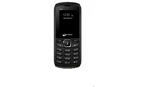 Micromax X090 Black Mobile
