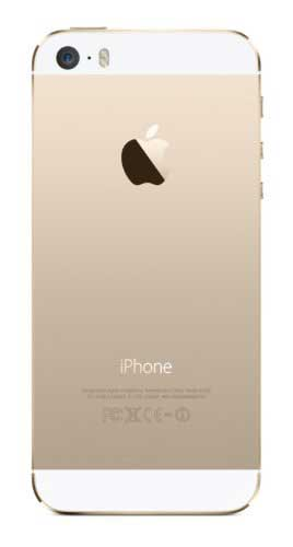 Apple iPhone 5s 64GB Gold Mobile