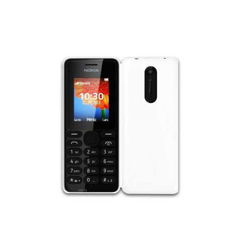 Nokia 108 128 MB White Mobile
