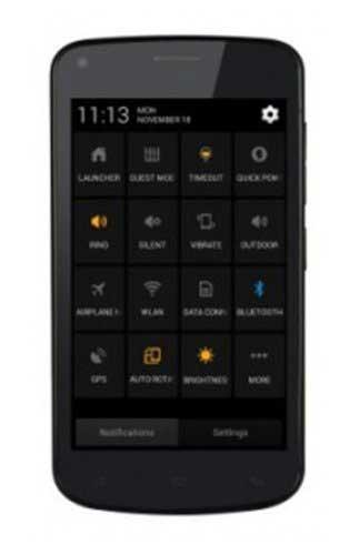 Gionee Pioneer P3 Black Mobile