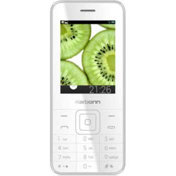 Karbonn K Phone 1 White Mobile