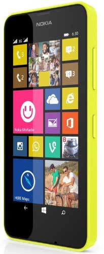 Nokia Lumia 630 8GB Yellow Mobile