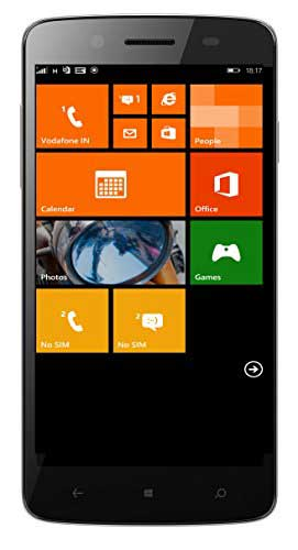 Micromax Canvas Win W121 (Micromax W121) 8GB Black Mobile