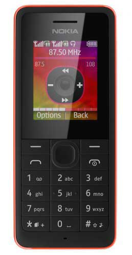 Nokia 108 128 MB Red Mobile