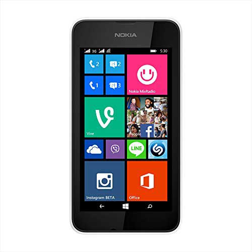 Nokia Lumia 530 4GB White Mobile