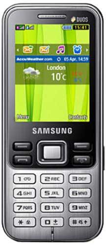 Samsung Metro Duos GT-C3322 Black Mobile