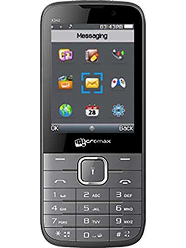 Micromax X342 Grey Mobile