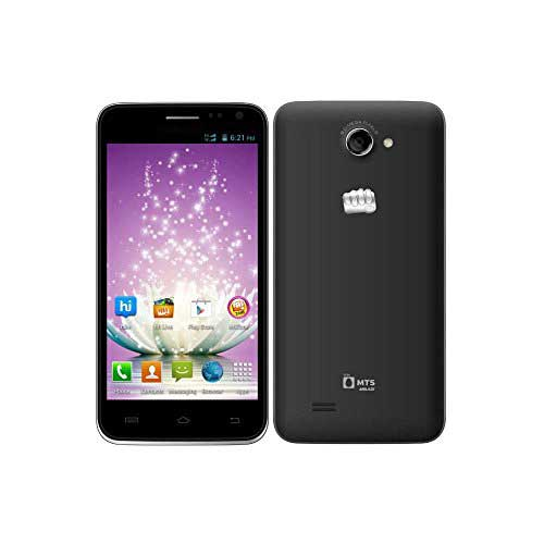 Micromax Canvas Blaze MT500 (Micromax MT500) Black Mobile