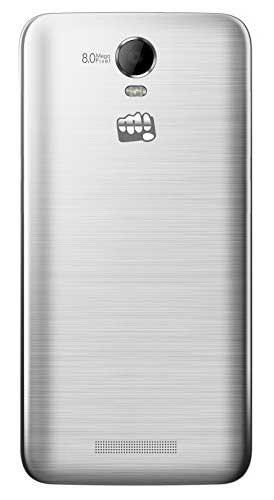 Micromax Canvas Juice 2 AQ5001 8GB Silver Mobile