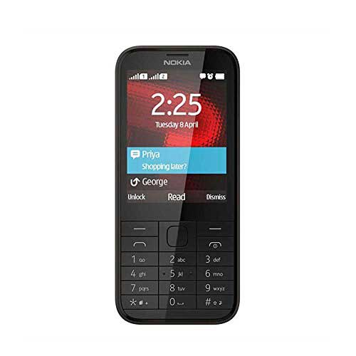 Nokia 225 128 MB Black Mobile