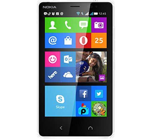 Nokia X2 White Mobile