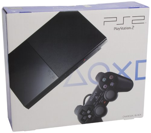 Sony PlayStation 2 Slim Console (Charcoal Black)