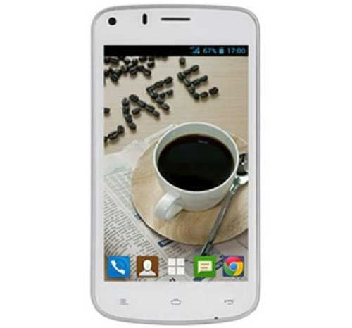 Gionee Pioneer P3 White Mobile