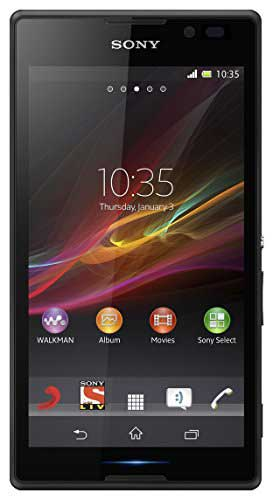 Sony Xperia C 4 GB Black Mobile