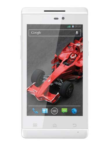Xolo A500s White Mobile