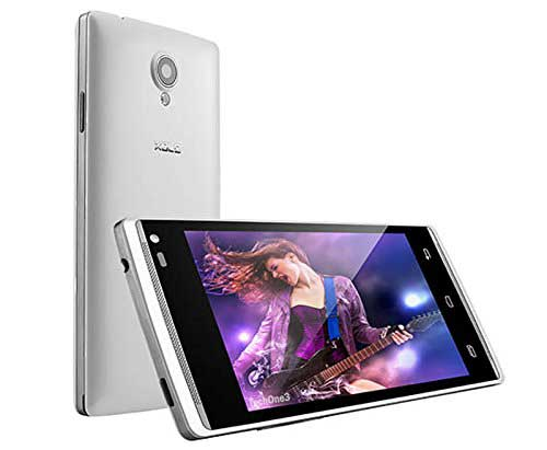 Xolo A500 Club White Mobile