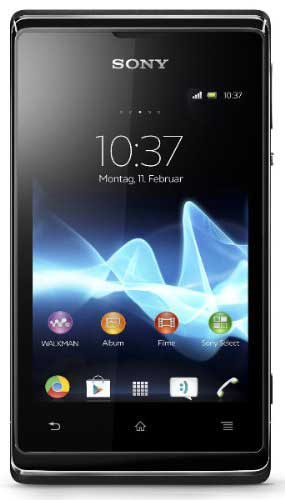 Sony Xperia E C1504 Black Mobile