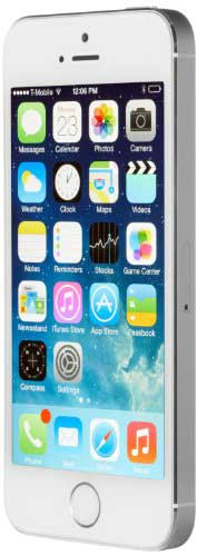Apple iPhone 5s 16GB Silver Mobile