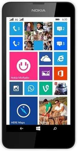Nokia Lumia 630 Windows Mobile