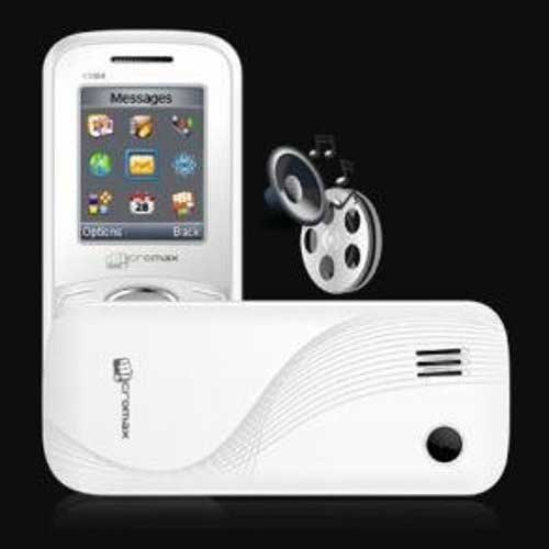 Micromax X084 Silver-White Mobile