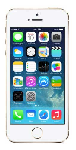 Apple iPhone 5s 64GB Silver Mobile