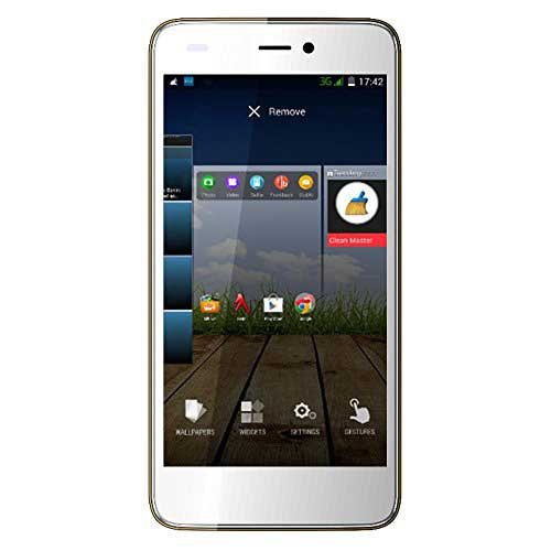 Micromax Canvas Knight Cameo A290 (Micromax A290) 8GB Gold White Mobile