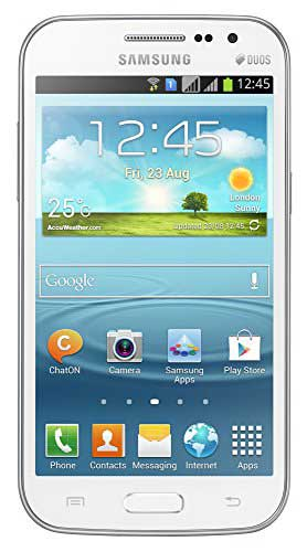 Samsung Galaxy Grand Quattro (Samsung GT-I8552) 8GB White Mobile