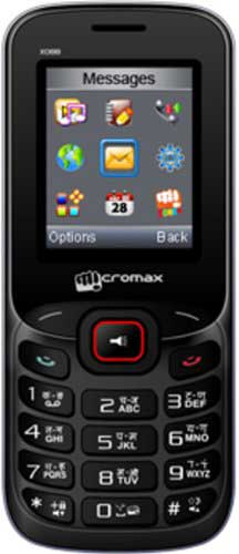 Micromax X088 Black-Red Mobile