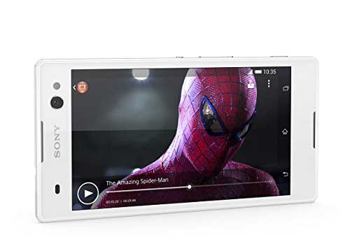 Sony Xperia C3 Dual 8GB White Mobile
