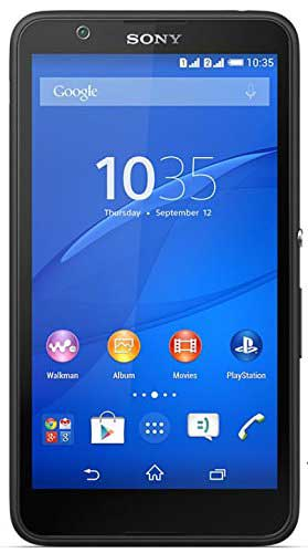 Sony Xperia E4 8GB Black Mobile