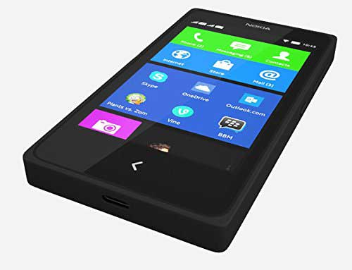 Nokia X 4GB Black Mobile