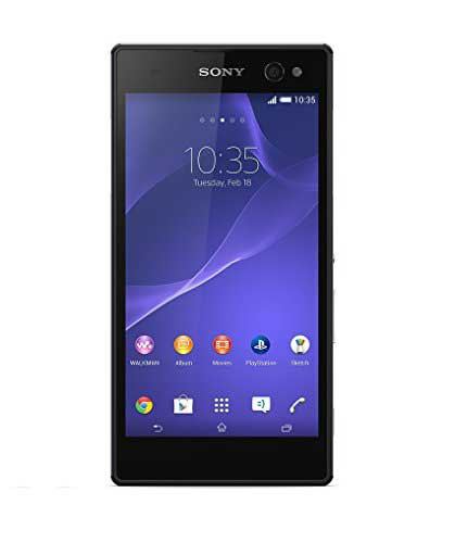 Sony Xperia C3 Dual 8GB Black Mobile