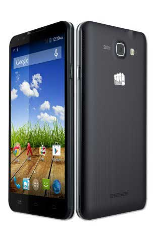 Micromax Canvas XL2 A109 (Micromax A109) Black Mobile