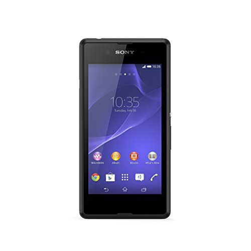 Sony Xperia E3 4 GB Black Mobile