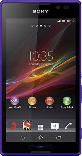 Sony Xperia C Purple Mobile