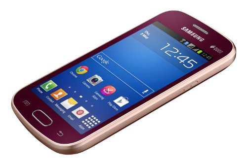 Samsung Galaxy Trend (Samsung GT-S7392) 4GB Red Mobile